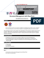 Document Management With SharePoint