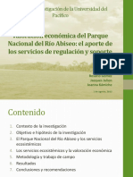 Valoracion Economica Del PNRA CIES