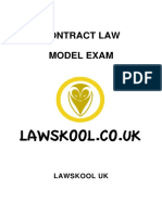 Uk Contract Law Model Exam Sample v1.0