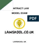Uk Contract Law Model Exam Sample v1.0