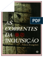 AS CORRENTES DA INQUISIÇÃO - Valerio Evangelisti .doc