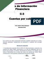 Norma de Informacion Financiera c3 Cuentas Por Cobrar