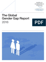 World Economic Forum - Global Gender Gap Report - 2016