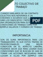 Contrato Colectivo Diapositiva