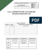 7. Procedimiento de Analisis de Trabajo Seguro