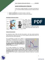 Respuesta Cardiovascular Al Ejercicio - Apuntes - Fisiología Del Ejercicio