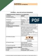 Hoja de Seguridad Estireno PDF