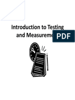 tests and measurements presentation