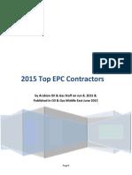 66-2015 Top EPC Contractors