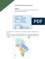 Estudio Hidrologico Cuenca