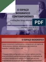 Espaço Biográfico Contemporâneo