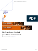 LiveScore Soccer _ Live Soccer Scores by LiveScore