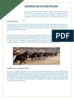 Tradiciones y Costumbres de La Costa Peruana