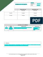 Estructura de Estandar
