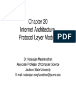 Chapter 20 InternetArch ProtocolStack