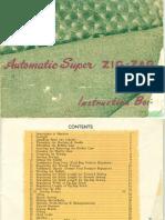 Automatic Super Zig-Zag - Manual
