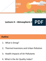 Lecture 4 - Atmospheric Pollution and Ozone - A2L