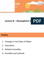 Lecture 8 - Atmospheric Moisture - A2L