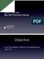 iOS Troubleshooting iMac
