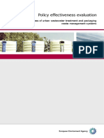 Policy Effectiveness evaluation