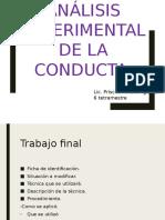 Analisis de La Conducta