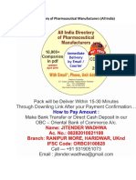 Database Directory of Pharmaceutical Manufacturers