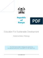Education for Sustainable Development Strategy