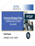 SVPMA 01 2007 Personal Strategic Plans Kristi Royse