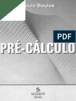 Pré-Cálculo - Paulo Boulos