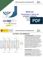Rom 2.0 Terminales y Obras de Atraque y Amarre