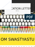 Application Letter Ppt