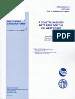 A Coastal Hazard Database of US West Coast