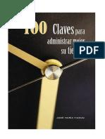 100 Claves para administrar el tiempo