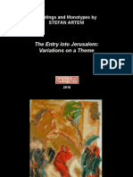 PaintingsAndMonotypesByStefanArteni_TheEntryIntoJerusalem_VariationsOnATheme