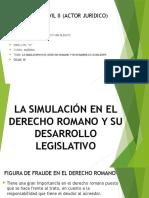 Derecho Civil II (Actor Juridico)