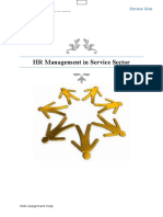 HR Management in Service Sector