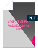Método de Bakhmeteff
