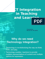 Ict Integration in Teaching and Learning