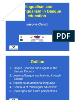 Bilingualism and Multilingualisme in Basque Education
