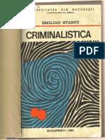 Criminalistica Emilian Stancu