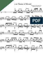 Variation Mozart