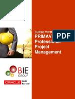 Brochure Curso Virtual Planificación de Proyectos con Primavera P6 Online