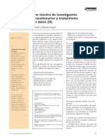 Anguita, Repullo y Campos - La Encuesta Como Tecnica de Investigación II