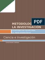 Metodología de La Inv