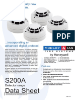 4 S200A Series Detectors India Made Morley IAS Datasheet