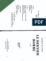 Blanchot - Le dernier homme.pdf