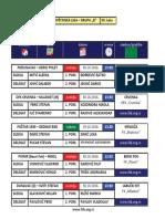 medjuopstinska liga - grupa b - delegiranje - 9  kolo