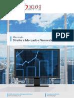 Mestrado Em Direito e Mercados Finaceiros
