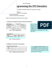 Introduction to Cpu Simulator