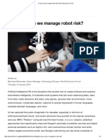 AI_ How Can We Manage Robot Risk